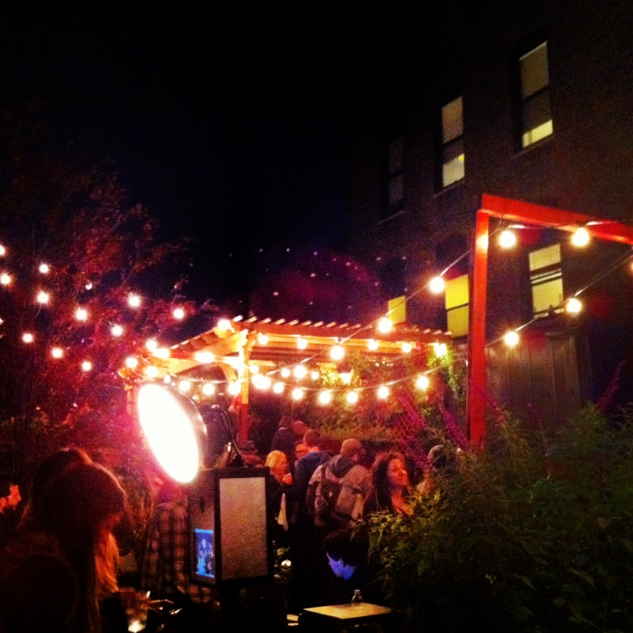 Mirrorball's Fall Ball rooftop party.