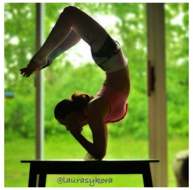 One of my favorite yogis. She HAS to be a superhero.